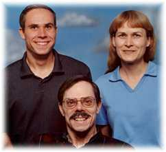 Fred, Diana & Daniel Adams of Placerville, California in 2006